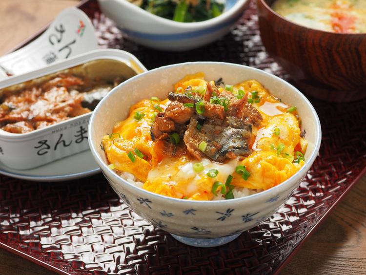 さんま蒲焼のミニ丼 by:筋肉料理人さん