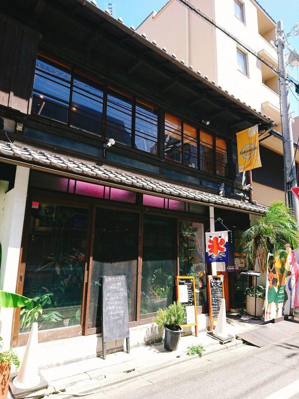 京都「Fukumimi」の外観