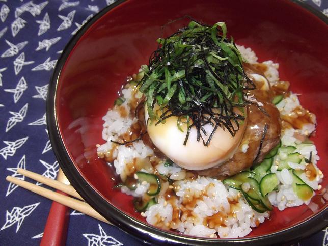 和風ロコモコ丼 by:さちくっかりーさん