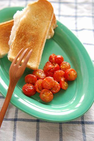 5分でできる!「プチトマトのバターソテー」