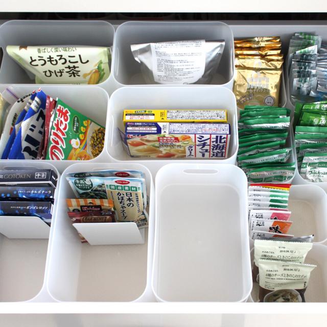 使いたい時すぐ見つかる!散らかりがちな「食品収納」整理術