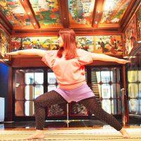 夢を見ているよう!私のおすすめ朝活「ホテル雅叙園東京のモーニングヨガ」