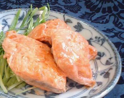 レモンペッパーの秋鮭ムニエル オーロラソース by:satohahaさん