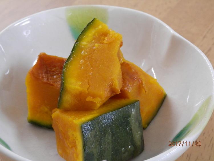 レンジで簡単☆かぼちゃのバター醤油 by:kaana57さん