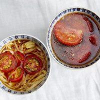注ぐだけ!朝ごはんに添えたい「トマト」のスープ2種