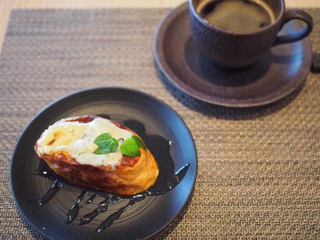 ホテル雅叙園東京の朝食のフレンチトースト