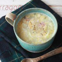 レンジでぱぱっと簡単!朝の定番「ソーセージエッグスープ」