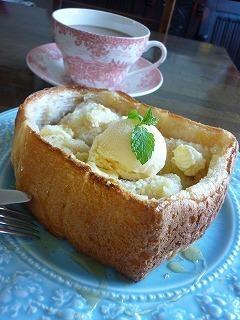 贅沢*はちみつトースト バニラアイス添え by:sukemarumonさん