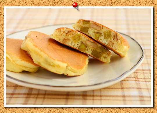 さつまいもとくるみ入りミニパンケーキ。 by:おおたわ 歩美さん