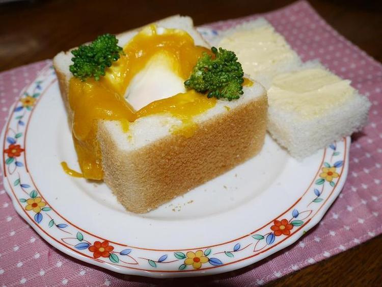 パンDEかぼちゃのスープのココット by:はーい♪にゃん太のママさん