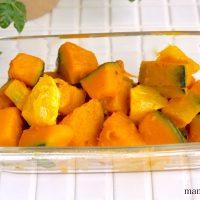 秋が食べ頃!簡単「かぼちゃのレモンバター煮」の作り置き