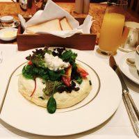 オープンホワイトオムレツに感動♪ホテル朝食☆【ザ・ペニンシュラ東京】