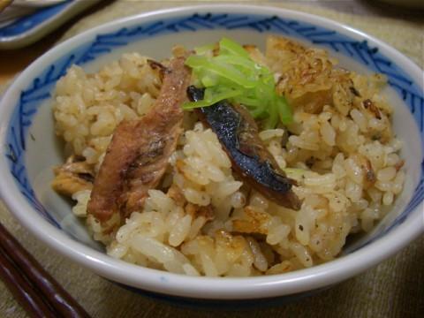 簡単すぎ~サンマの炊き込みごはん!! by:マムチさん