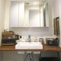水回りはシンプルイズベスト!清潔感のある「洗面スペース」3つ