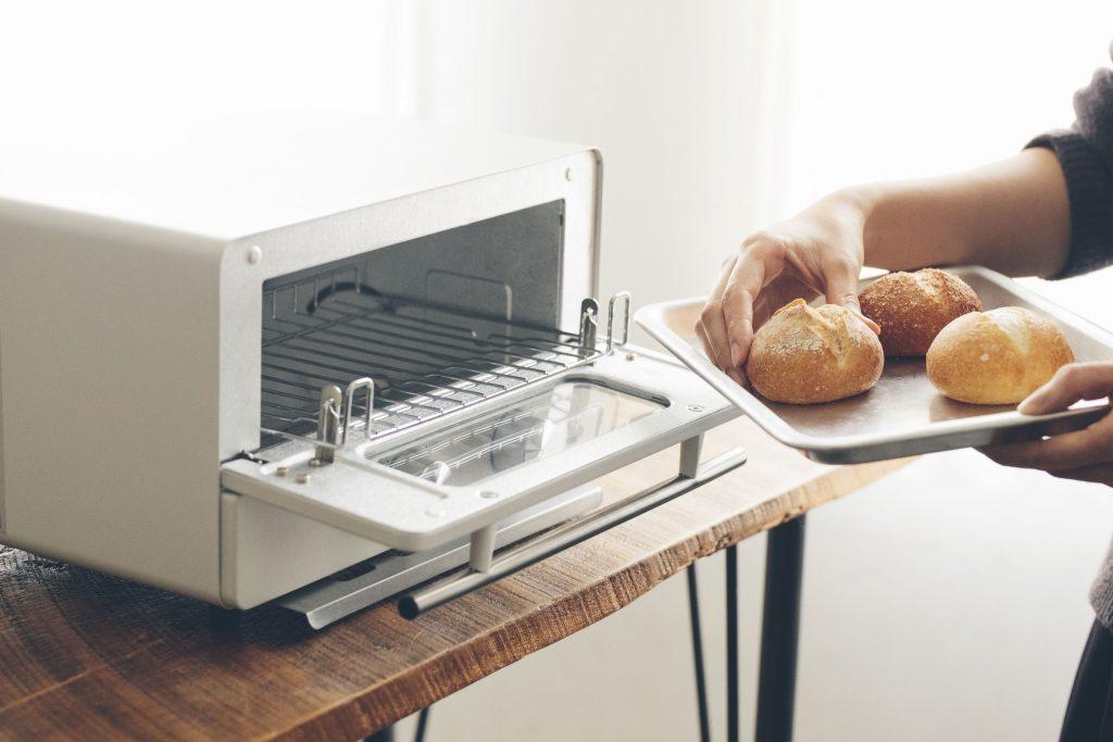 トースターでリベイク