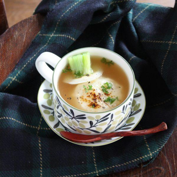 10分で完成!レンジで時短「かぶグラタンスープ」♪ by:タラゴン(奥津純子)さん
