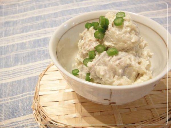 里芋のマヨサラダレシピ