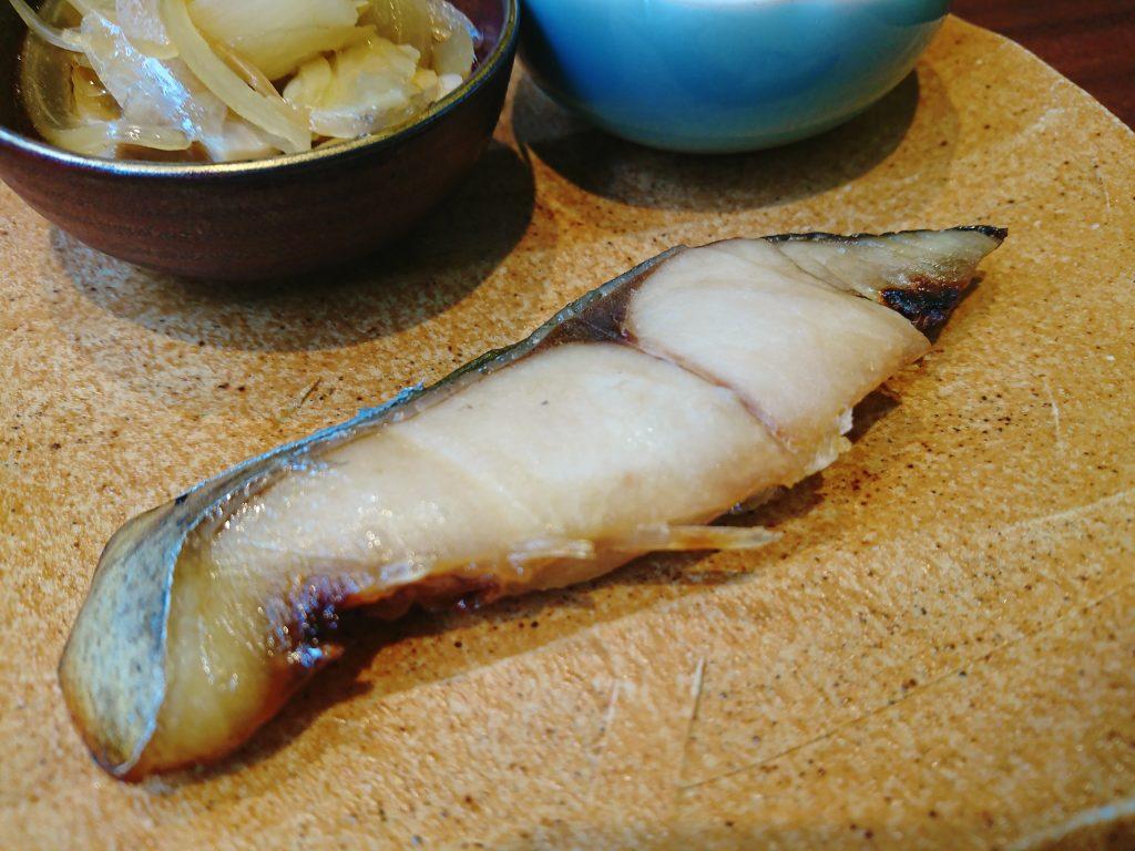 Cafeひなみの焼き鮭