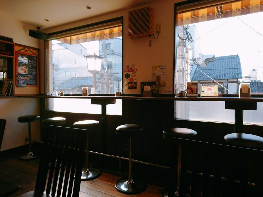京都の喫茶Amazon(アマゾン)店内
