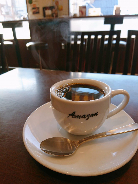 京都の喫茶Amazon(アマゾン)コーヒー
