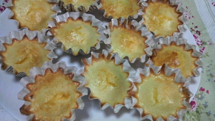 ホットケーキミックスで簡単!半熟チーズケーキ☆ by:はーい♪にゃん太のママさん