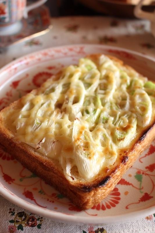 ねぎだけあれば<葱うまトースト> by:はーい♪にゃん太のママさん