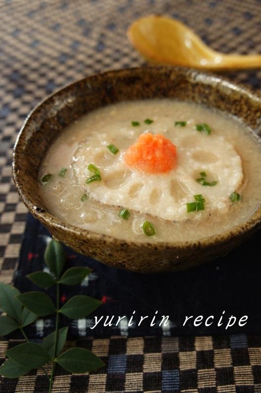 れんこん味噌スープ by:ゆりりんさん