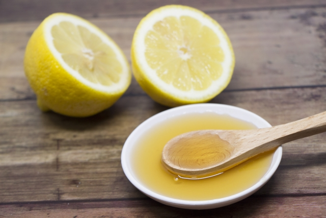 レモン、はちみつ
