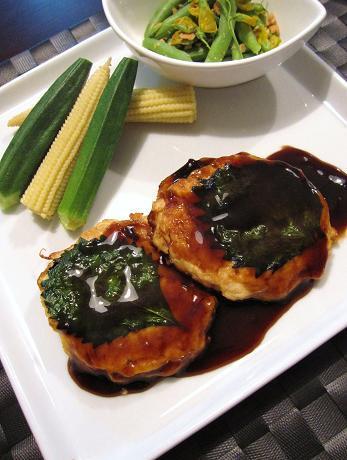 豆腐と鮭のハンバーグ by:@namiさん