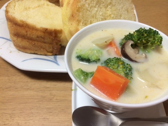 あったか豆乳根菜スープ by:ハルルさん