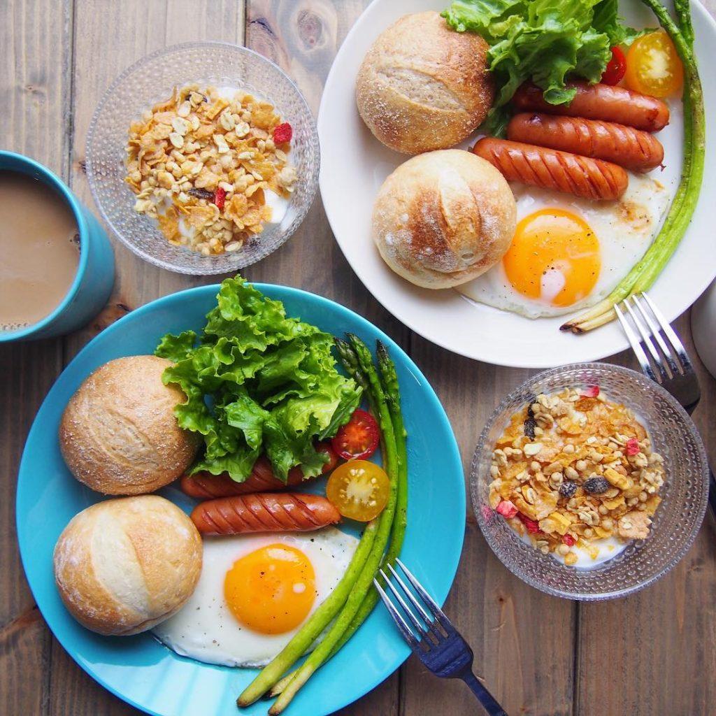朝美人アンバサダーMaiさんのPan&な朝ごはん
