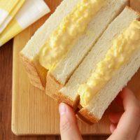 ゆで卵いらずで時短!半熟とろける「濃厚タマゴサンド」