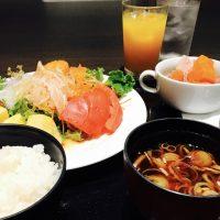 早稲田の杜に佇む…鯛茶漬に感動♪ホテル朝食☆【リーガロイヤルホテル東京】