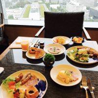 リニューアルしたクラブラウンジで頂く 至極のホテル朝食☆【ザ・キャピトルホテル 東急】
