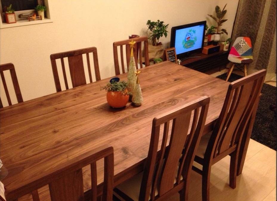 ののママさんのきれいな机