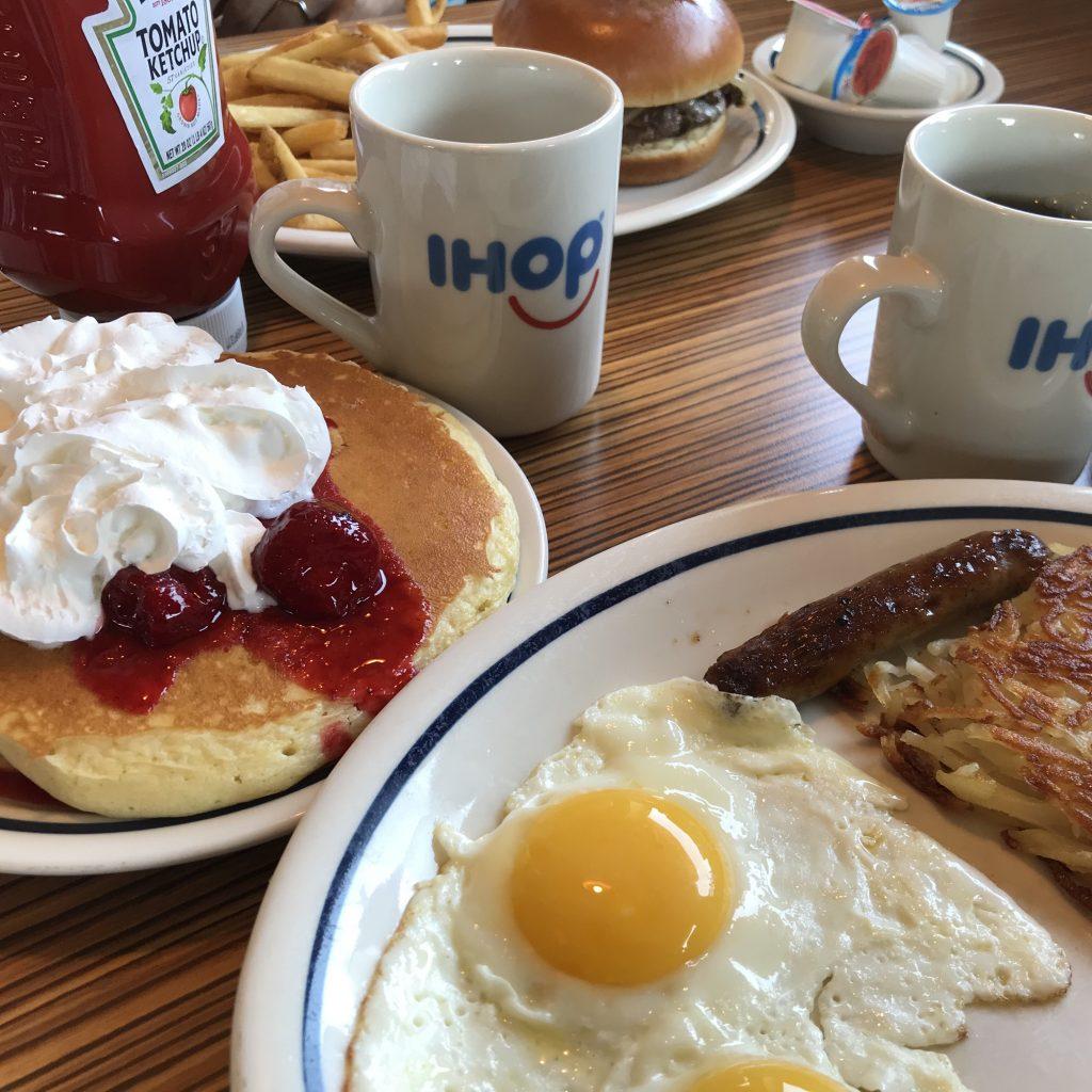 IHOP(アイホップ)朝食