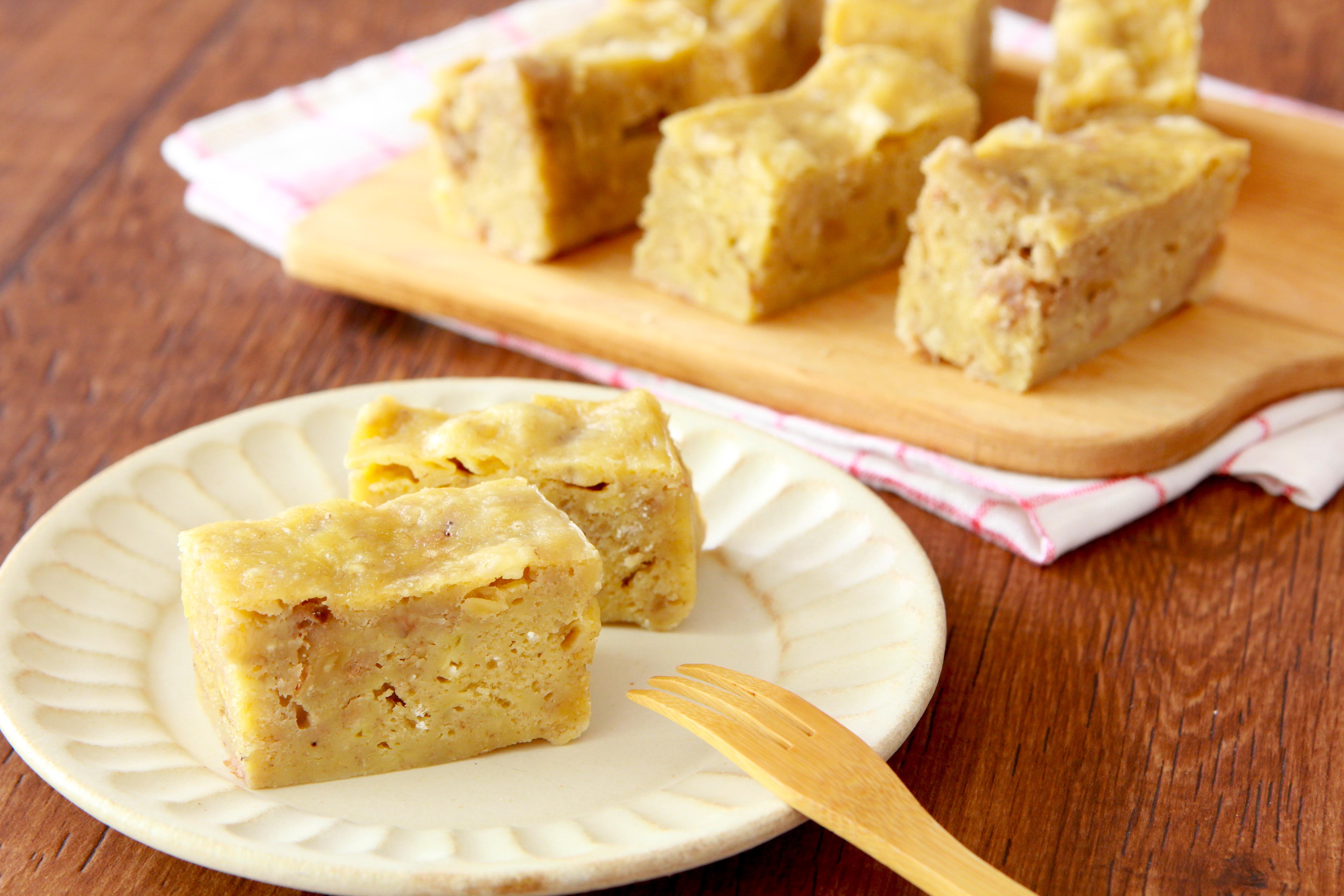 ケーキ ホット パウンド ケーキ ミックス バナナ