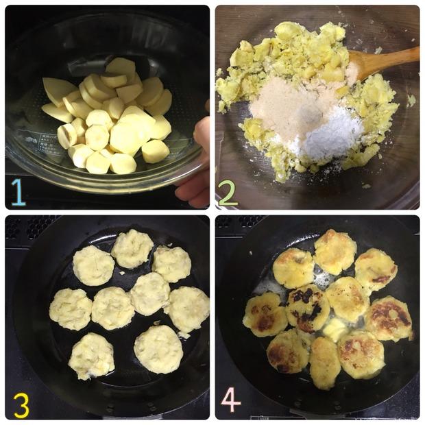 もっちり感がクセになる♪バター風味の「さつまいも餅」の簡単作り置き