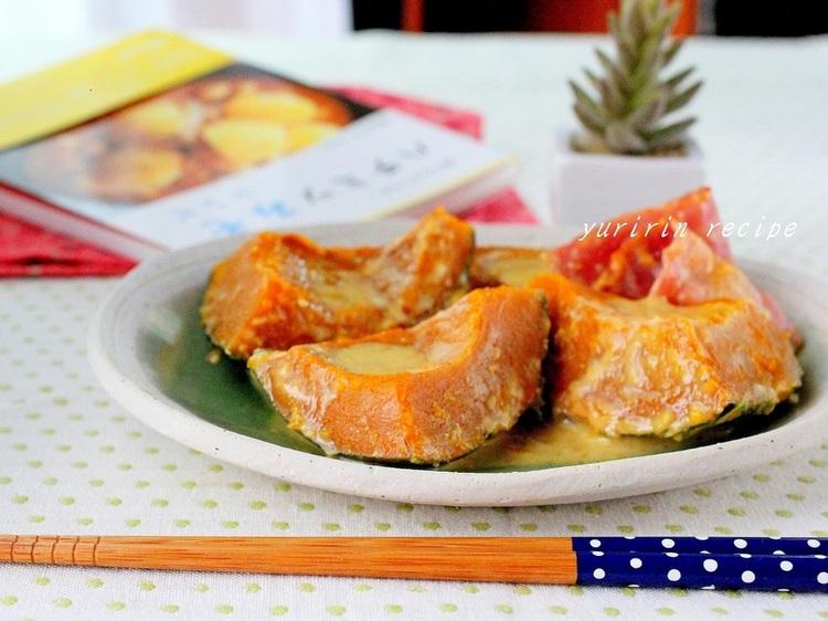 かぼちゃのハチミツみそ煮 by:ゆりりんさん