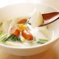 冷えたお腹がほっこり温まる♪朝のお手軽「ミルクスープ」レシピ5選