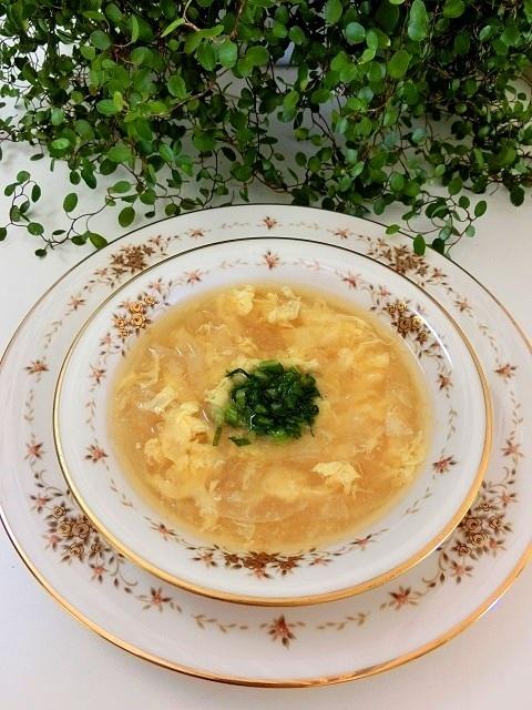 かぶの洋風かきたまスープ by:BiBiすみれさん