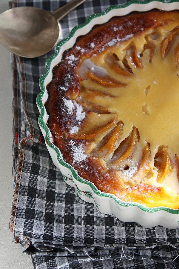 フォークで混ぜて焼くだけ♪簡単ヘルシー「柿とヨーグルトのクラフティ」