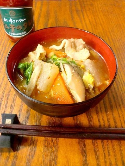 豚キムチ汁 by:ゆりりんさん