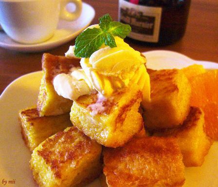 オレンジの香り♪ちょっぴり大人なフレンチトースト by:みぃさん