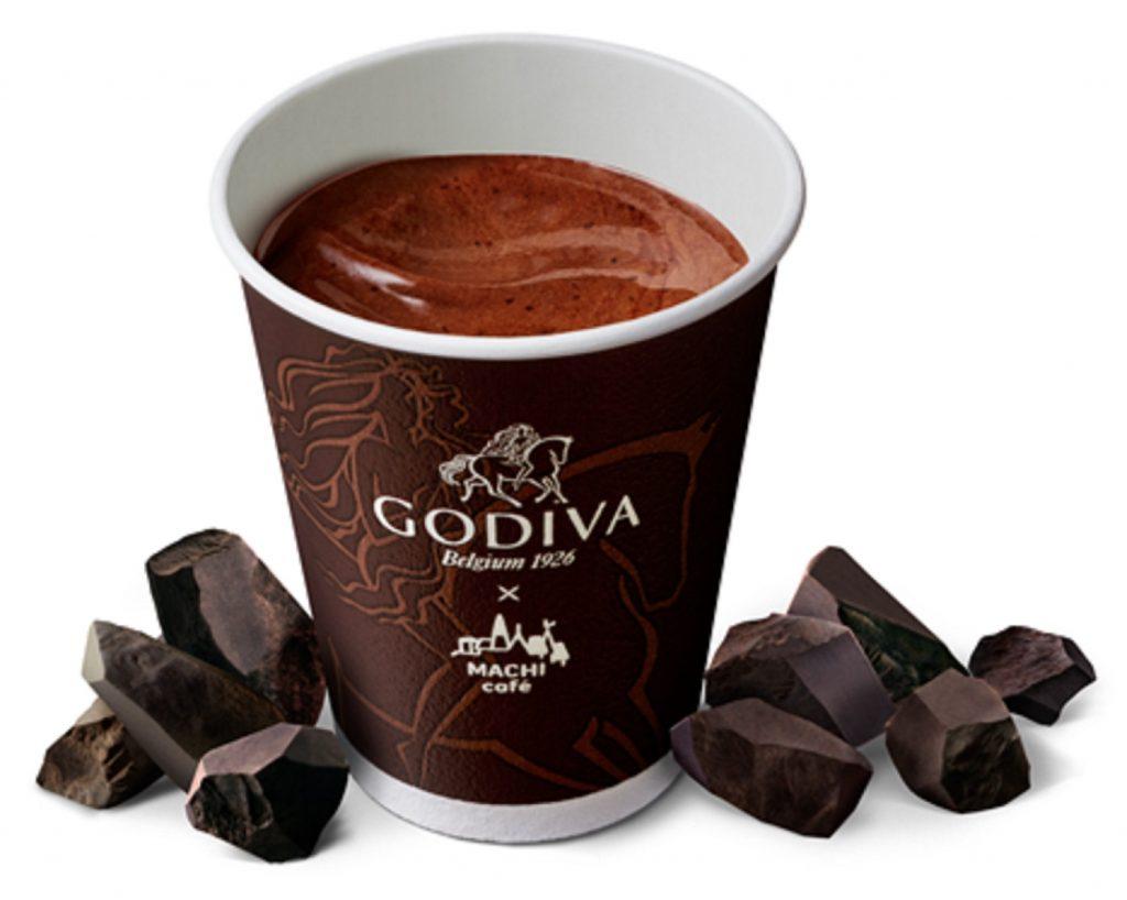 冬の朝に至福のひとときを♪数量限定!ローソン×GODIVA「ホットチョコレート」