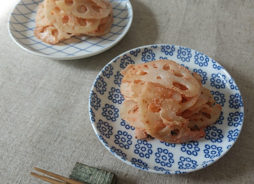 一品足りない時にちゃちゃっと簡単!「れんこんのめんたいバター炒め」 by:村山瑛子さん