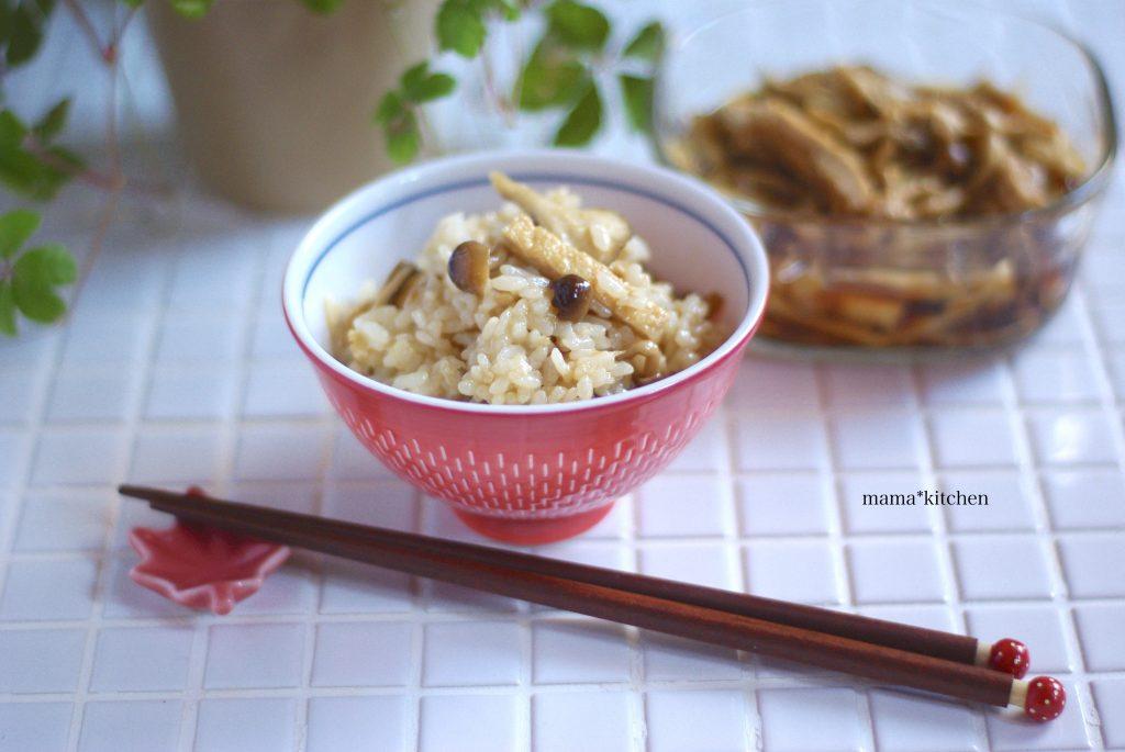 レンジで簡単作り置き!きのこたっぷり「混ぜご飯の素」 by:Mayu*さん