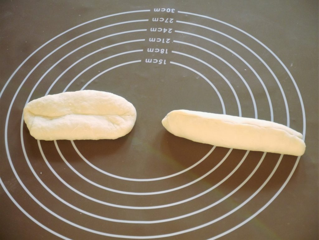 パン生地の成形
