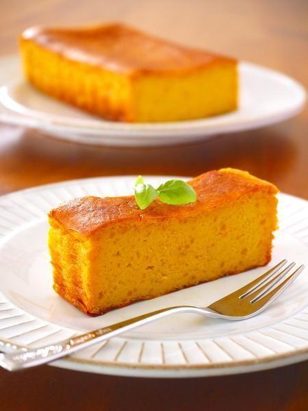 ハロウィンかぼちゃのチーズケーキ♪ by:みぃさん
