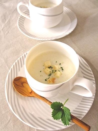 じゃがいものホットミルクスープ by:みっこ*mikkoさん